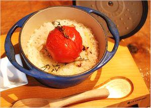 トマトの炊き込みご飯