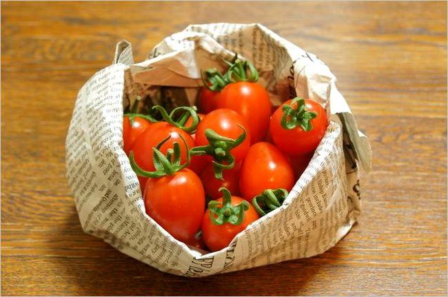 トマト 保存