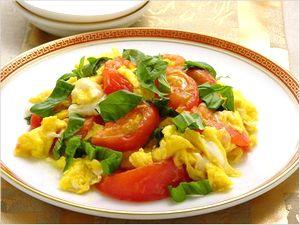 トマトの卵いため レシピ